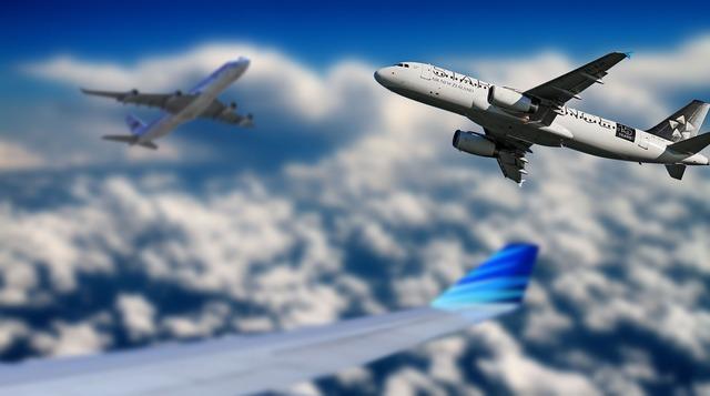 Aircraft sky fly, travel vacation.