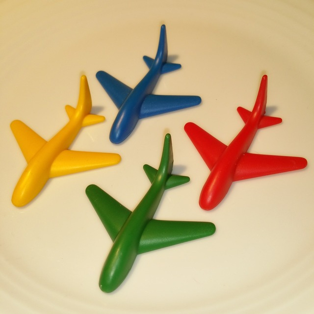 Aircraft toys children.