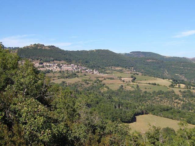 Aire de montjaux landscape aveyron, nature landscapes.