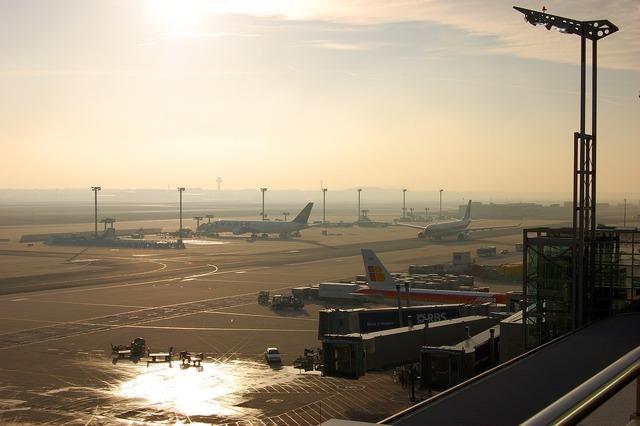 Airport frankfurt prior to.