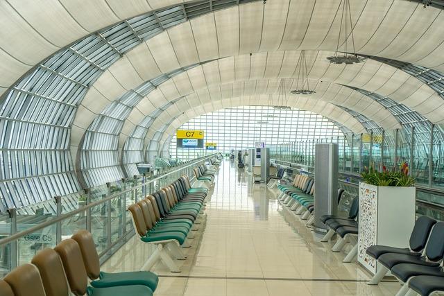 Airport gate flight.