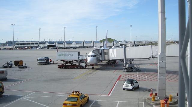 Airport prior to munich.