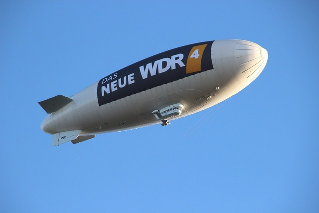 Airship sky zeppelin.