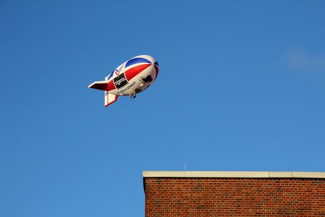 Airship trigema flying object.