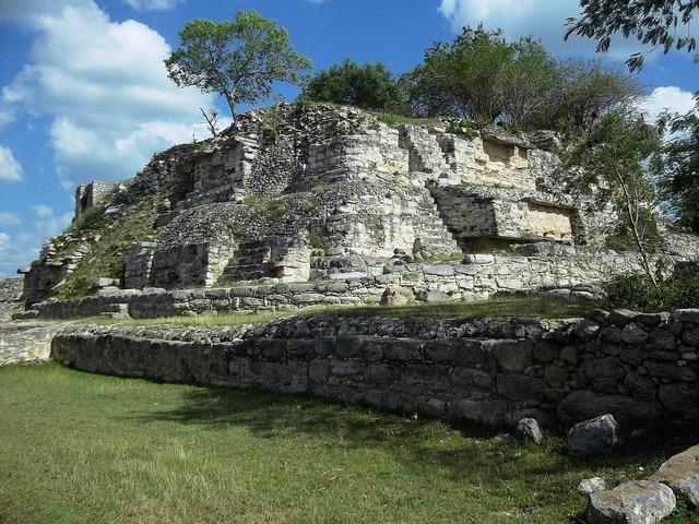Aké yucatan mexico, architecture buildings.