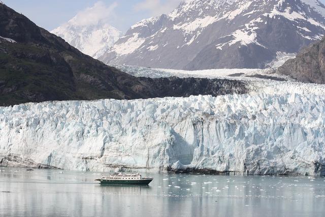 Alaska glacier bay.