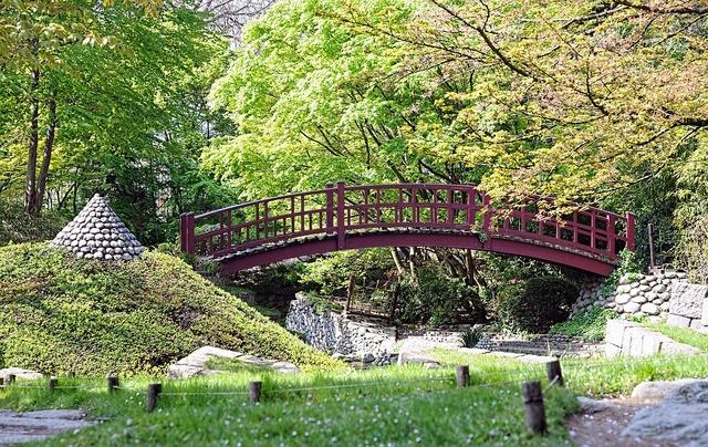 Albert kahn garden bridge japanese garden.