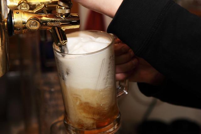 Alcohol bar beer, food drink.