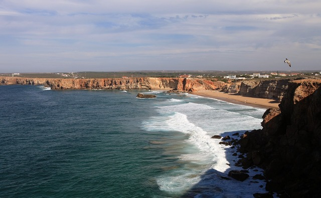 Algarve booked sea, nature landscapes.