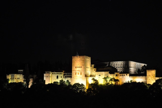 Alhambra granada andalusia, architecture buildings.