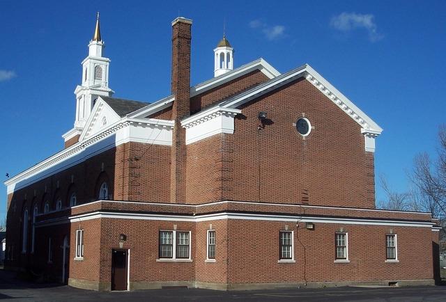 All saints church buffalo roman, architecture buildings.