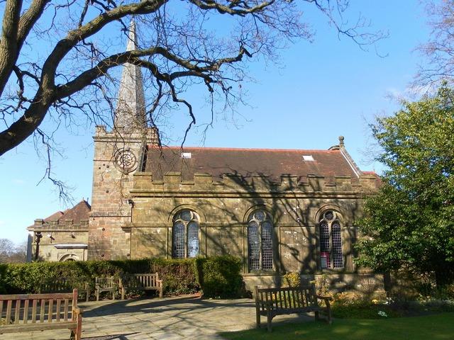 All saints church crowborough sussex, architecture buildings.