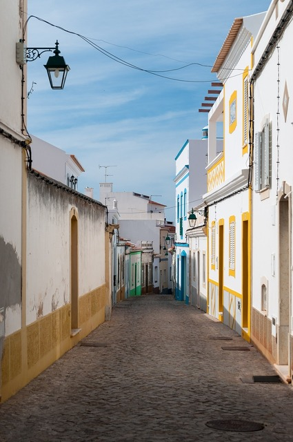 Alley canary islands village.