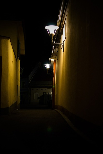Alley road lantern, transportation traffic.