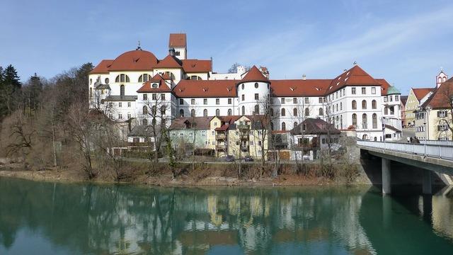 Allgäu füssen old town.