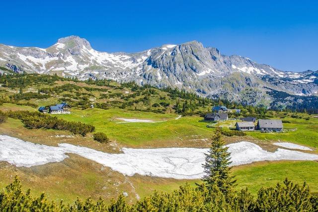 Alm mountain alpine, nature landscapes.