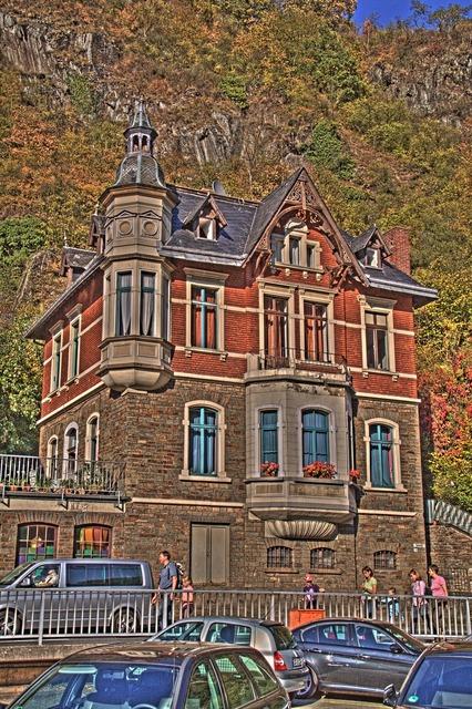Altenahr hdr house, architecture buildings.