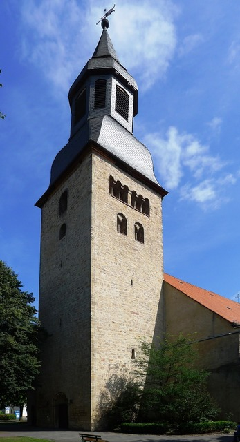 Altstädter church hofgeismar tower, architecture buildings.