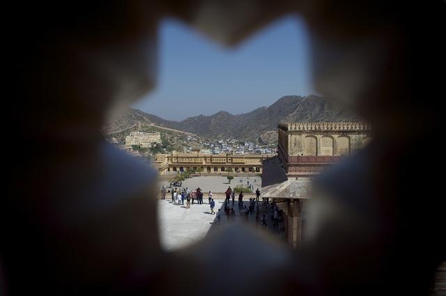 Amer fort jaipur, travel vacation.