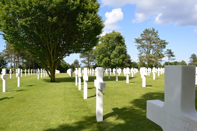 American cemetery normandy france.
