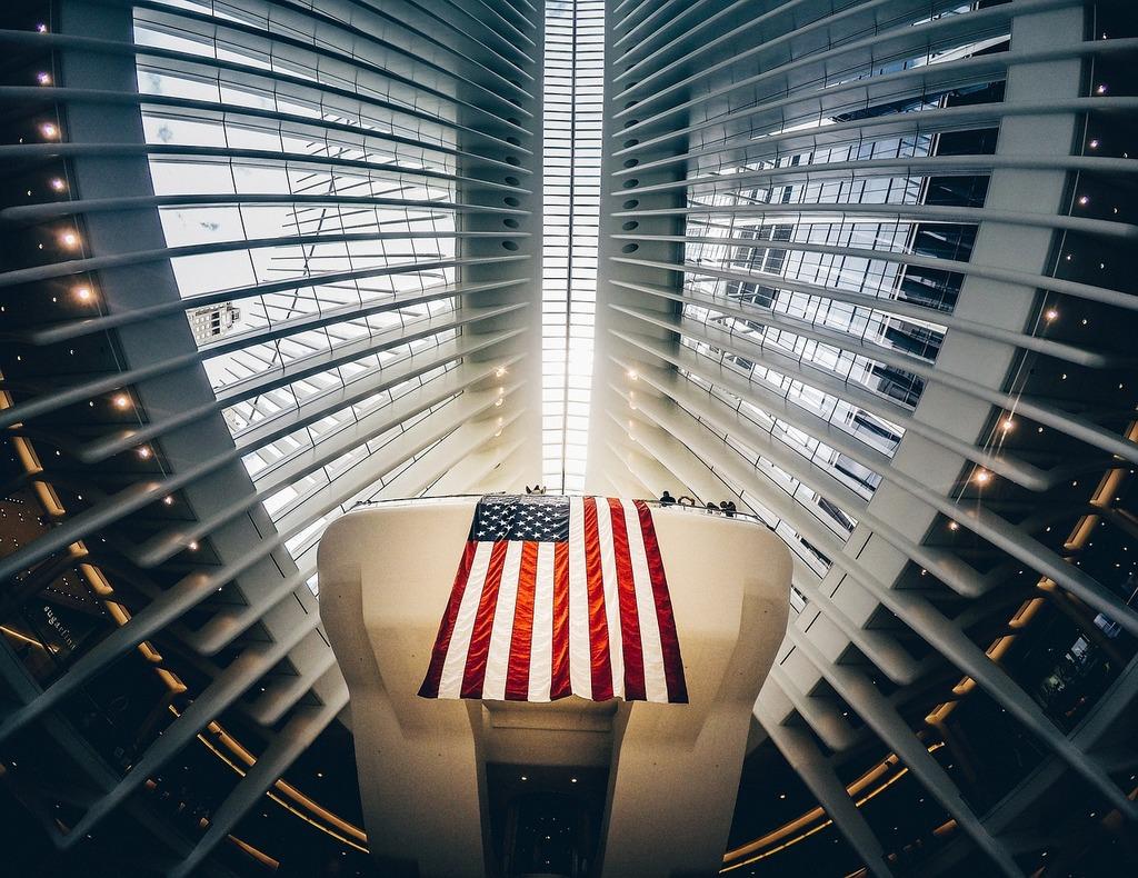 American flag architecture building, architecture buildings.