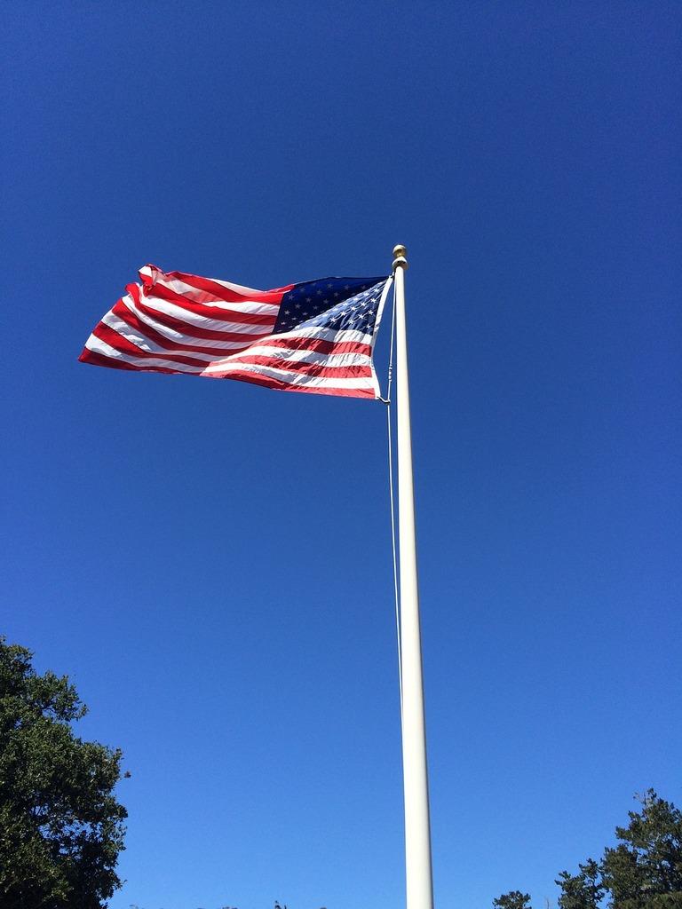 American flag usa symbol.