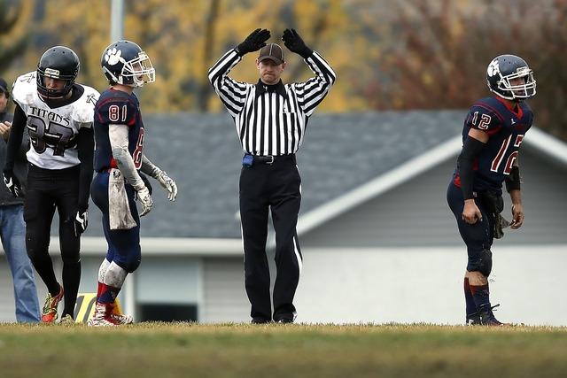American football football football referee, sports.