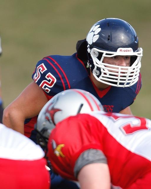 American football linebacker tough, sports.