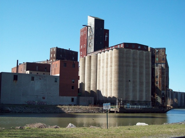 American grain complex buffalo grain, industry craft.