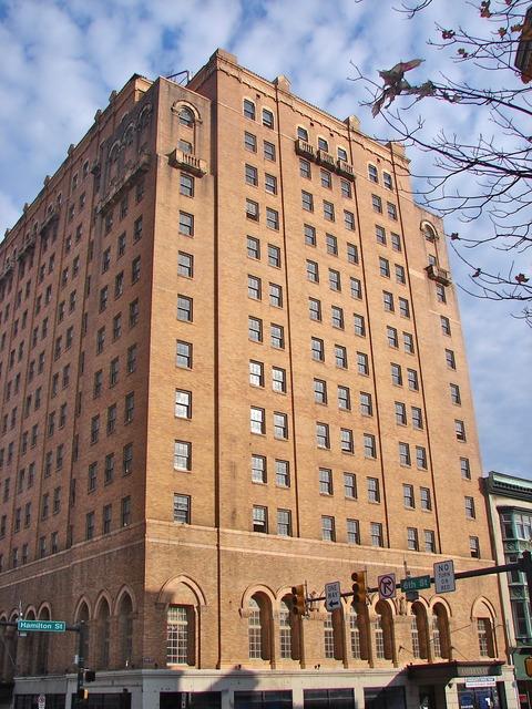 Americus hotel allentown pennsylvania, architecture buildings.