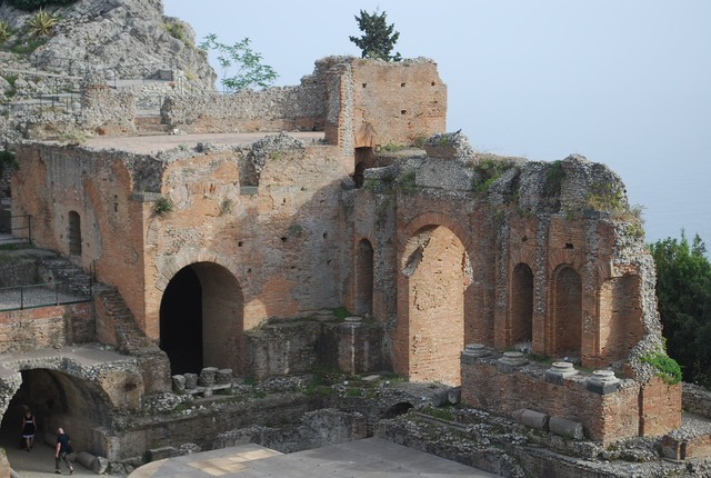 Amphitheater italy classical, architecture buildings.