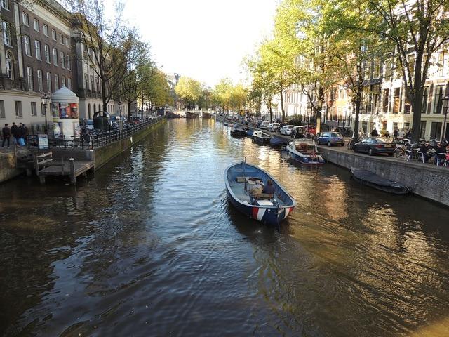 Amsterdam river holland.