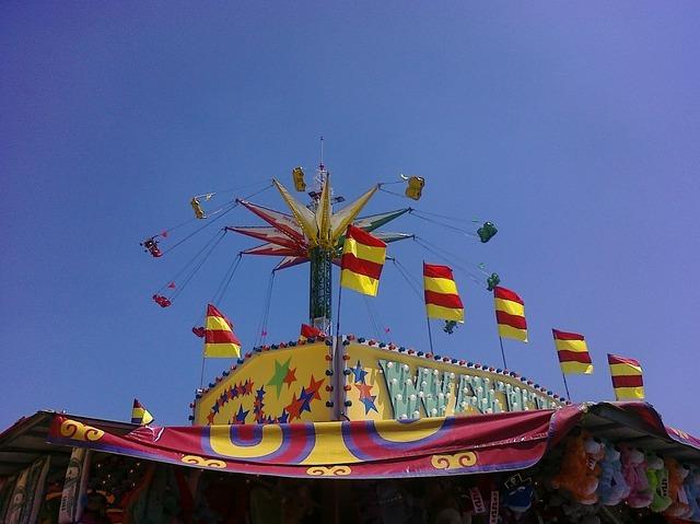 Amusement park fair.