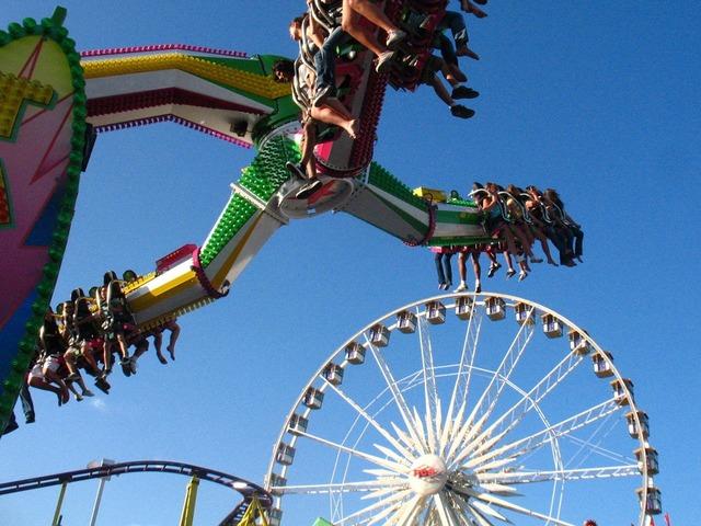 Amusement park ride.
