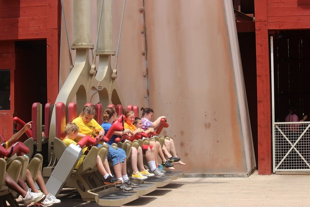 Amusement park ride amusement park amusement, emotions.