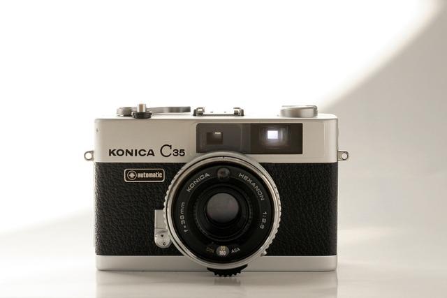 Analog camera old.