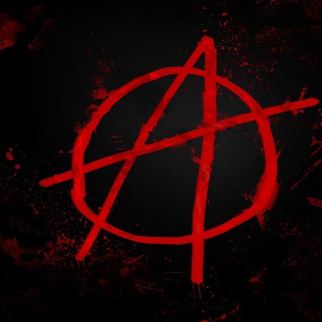 майка со знаком анархия