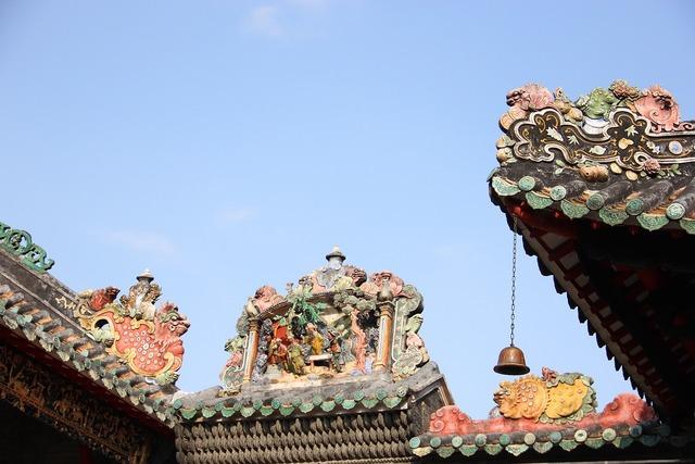 Ancient architecture temple building, religion.