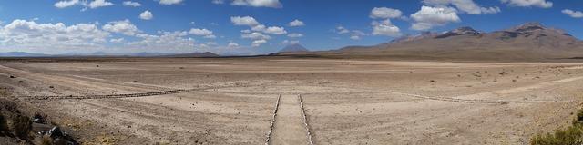 Andes plateau peru.