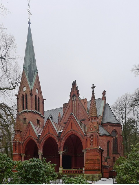 Andreaskirche berlin church, religion.