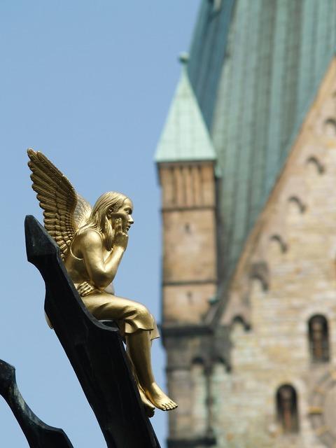 Angel dom church, religion.