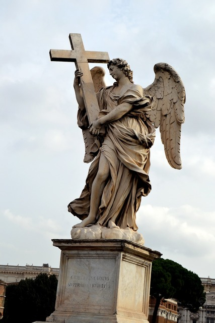 Angel italy cross.