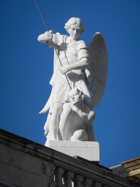 Angel madrid spain.