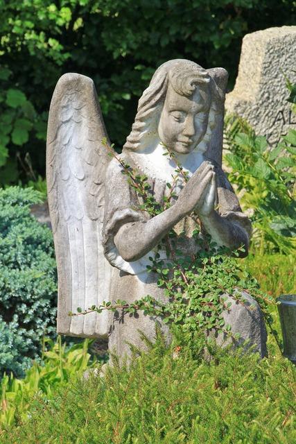 Angel pray cemetery, religion.