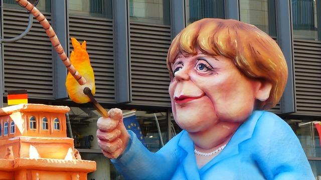 Angela merkel ttip caricature.