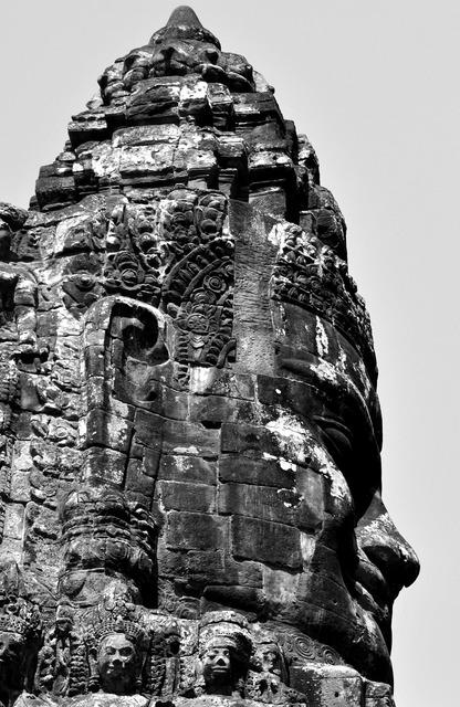 Angkor temple cambodia, religion.