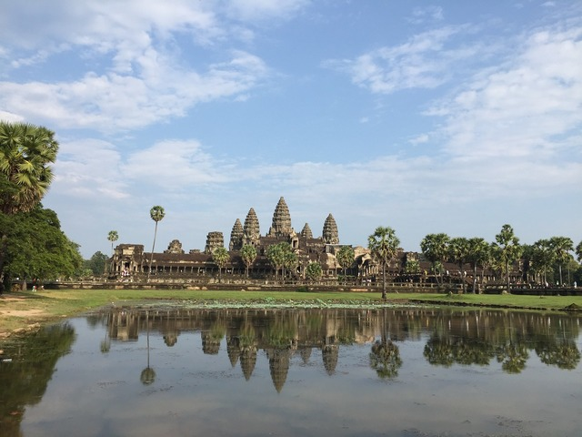 Angkor wat measure cambodia.