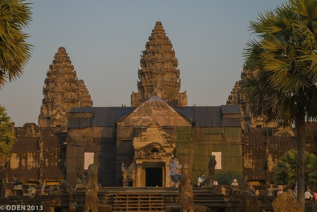Angkor wat siem reap cambodia.
