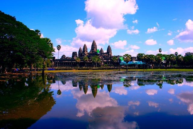 Ankor wat cambodia asia, architecture buildings.