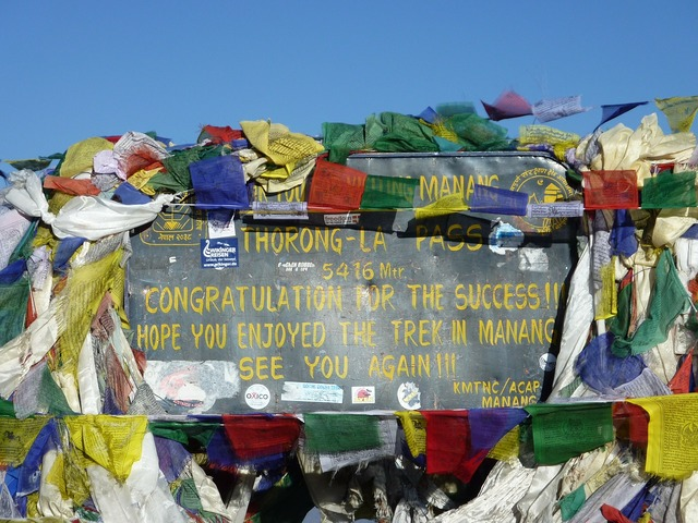 Annapurna himalayas nepal.